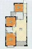金源盛世东南向106平方 3室 2厅 2卫
